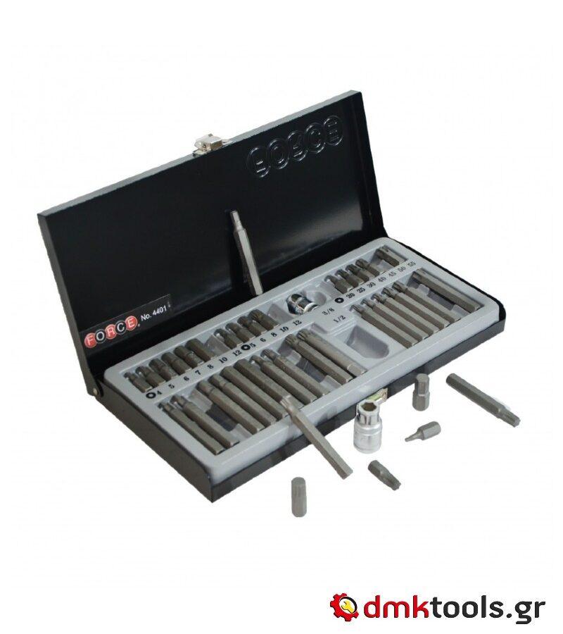 videvoiki dmktools mparolas force 4401 set vidomatos 40 temahion 1 2 kai 3 8 ipodohis se metalliki kasetina 1