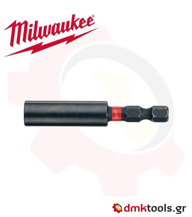 videvoiki dmktools mparolas milwaukee 4932352406 magnitikos antaptoras 10xlife shockwave 1 4 60mm 1tmh